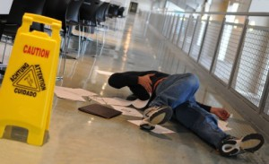 Slip and fall in rented facilities