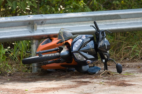 Rhode Island motorcycle accident injury claim