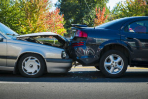 Rhode Islan rear-end car collision