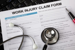 Work injury claim compensation in Rhode Island