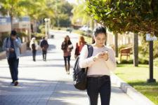 RI Texting & Walking Accident
